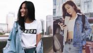 Trang phục denim phủ sóng street style giúp mĩ nhân Việt chất lừ toả sáng