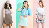 """4 kiểu chân váy """"xinh yêu"""" được nữ sinh Hàn chuộng nhất khi đi học"""