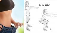 Cách giảm béo bụng cực hiệu quả chỉ với bài tập 4 phút mỗi ngày dành cho nàng lười