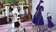 """Khoảnh khắc dễ thương vô đối của sao Việt khi mẹ con cùng diện đồ đôi """"tone sur tone"""""""