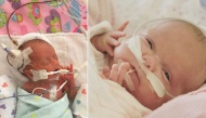 Nghị lực phi thường của cô bé sinh non 23 tuần tuổi khiến ai ai cũng kinh ngạc và xúc động