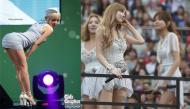 Nghiện khoe chân, sao Hàn ngày càng gây phản cảm với váy siêu ngắn