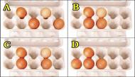 Nhận biết điểm mạnh của bạn để luôn thành công chỉ thông qua cách sắp xếp trứng