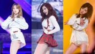 """""""Toát mồ hôi"""" với những bộ váy ngắn """"chực chờ lộ hàng"""" của các nữ thần tượng K-pop"""