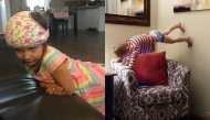 """Những bức ảnh chứng minh rằng nuôi một đứa trẻ nhỏ trong nhà chẳng khác gì """"cân"""" cả một gánh hài"""