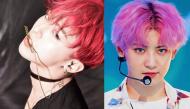 Những nam idol Hàn dường như sinh ra là để nhuộm tóc màu hồng
