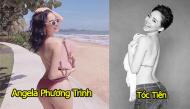 """""""Nổ mắt"""" với những tấm lưng cong siêu gợi cảm của sao Việt"""