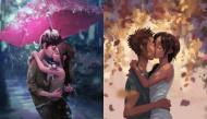 Bộ tranh tình yêu lãng mạn, ngọt ngào khiến các FA vật vã ghen tị