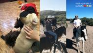 1001 kiểu nghỉ lễ của sao Việt: Người sang Úc cưỡi ngựa, người nằm nhà chơi với cún con
