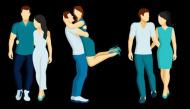 Bạn thấy cặp đôi nào không giống vợ chồng nhất, đáp án sẽ tiết lộ cách yêu của bạn