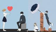 Bộ ảnh tình yêu: Con gái sẽ thay đổi thế nào khi hết yêu, muốn chia tay?