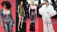 Những bộ trang phục phản cảm và kỳ quái tiếp tục đổ bộ thảm đỏ Cannes, Kendall Jenner lộ cả vòng 1