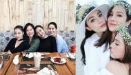 """Những hội chị em giàu có và quyền lực của showbiz Việt đẹp như """"tháng năm rực rỡ"""""""