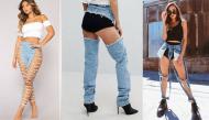 Những mẫu quần jean độc dị mà có khi cho tiền chưa chắc bạn dám mặc
