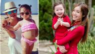 """Những mĩ nhân Việt tự hào vì không mang phận """"đẻ thuê"""", con sinh ra giống hệt mẹ"""