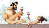 Bộ tranh miêu tả chân thực, hài hước cuộc sống của các cặp đôi khi về chung một nhà