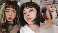 Bất chấp mọi ánh nhìn 5 cô nàng này vẫn xinh đẹp nổi bật với tóc mái ngắn cũn