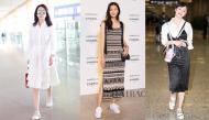 Học sao nổi tiếng cách phối váy đầm với giày thể thao để ấn tượng, cuốn hút