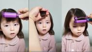 """Điệu bộ đáng yêu của bé gái khi được bố làm điệu khiến cư dân mạng muốn """"rụng tim"""""""