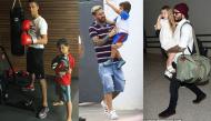 """Cùng là """"cục vàng"""" nhà siêu sao bóng đá, con trai Ronaldo khác gì với quý tử còn lại?"""