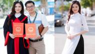 Cận cảnh dung nhan nữ sinh ĐH Vinh được thầy giáo cầu hôn ngay trong lễ tốt nghiệp gây sốt MXH