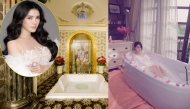 Fan suýt xoa trước phòng tắm xa hoa lộng lẫy nhà Sao Việt