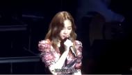 Hát hỏng, Taeyeon buồn đến mức bật khóc trên sân khấu