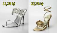 Kinh ngạc trước những đôi giày có giá trị đắt hơn cả một ngôi nhà