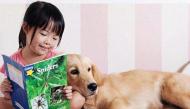 Những tình huống cười chảy nước mắt của các em bé và thú cưng
