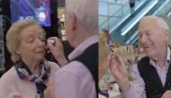 Cảm động câu chuyện ông lão 84 tuổi học trang điểm để có thể make-up cho người vợ mù