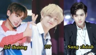 """Không chỉ đơn giản là đẹp trai, """"nam thần"""" K-pop cũng được phân loại thành nhiều kiểu nhan sắc"""