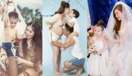 """""""Phát hờn"""" trước những bộ ảnh gia đình hạnh phúc đẹp lung linh của sao Việt"""