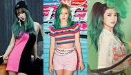 """Mỹ nhân K-pop thử tóc xanh lá """"khó nhằn"""" và cái kết bất ngờ"""