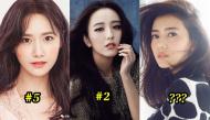Top 10 ngôi sao nữ xinh đẹp nhất do đàn ông châu Á bình chọn: Bất ngờ khi thiếu sót Địch Lệ Nhiệt Ba