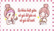 5 tình huống cho thấy sự khác biệt giữa cô gái để yêu và cô gái để cưới