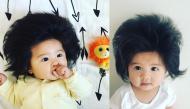 """Cô bé có mái tóc """"bờm sư tử"""" khiến người xem phát sốt vì quá đáng yêu"""