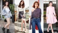 Đặt lên bàn cân phong cách thời trang Khả Ngânvà Song Hye Kyo