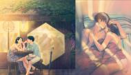 Ngất ngây với bộ tranh minh họa tình yêu ngọt ngào của họa sĩ Hàn Quốc