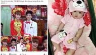 """Cặp đôi """"lệch tuổi vợ 9X chồng 2k"""" hạnh phúc với con gái đầu lòng tại Tiền Giang"""