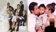 Những nhóc tì nhà sao may mắn nhất khi được dự đám cưới chính bố mẹ mình