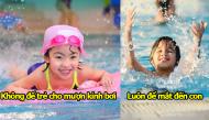Những vấn đề sức khỏe bố mẹ cần lưu ý khi cho trẻ bơi ở nơi công cộng