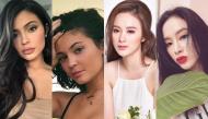 """""""Nữ hoàng môi tều"""" Kylie Jenner giờ môi đã xẹp lép, còn sao Việt thì sao?"""