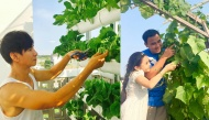 """""""Thèm thuồng"""" trước những khu vườn hoa trái xum xuê trong biệt thự bạc tỉ của sao Việt"""