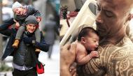 Tan chảy trước khoảnh khắc những ông bố Hollywood ôm con nhỏ trong vòng tay ấm áp
