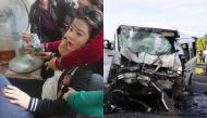 Vụ tai nạn 13 người chết: Cô dâu ngất lịm nhìn chồng lần cuối trong quan tài