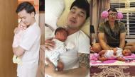 """4 sao nam phong độ tàn phai nhan sắc sau khi lên chức ông bố """"bỉm sữa"""" của showbiz Việt"""