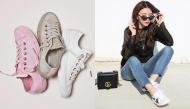 Không chỉ có style hầm hố, giày sneakers vẫn có thể mix&match đa dạng