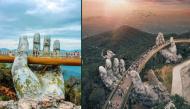 Tin vui: Cầu Vàng Đà Nẵng lại lọt top 100 điểm đến tuyệt vời nhất thế giới