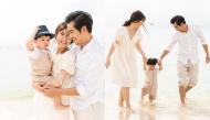 Chẳng ai ngờ nam diễn viên Thanh Bình lại cưng bà xã Ngọc Lan và quý tử đến mức này