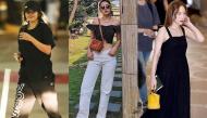 Chi Pu chăm chỉ diện quần cạp cao ống thụng khoe dáng, Selena phát phì chỉ vì chọn nhầm street style